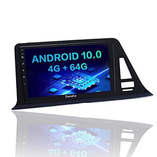 Dasaita 10.2 'Android Dab Autoradio para Toyota CHR 2016 2017 2018 Radio Bluetooth con Carplay / Android Auto RDS Control del Volante Enlace de Espejo