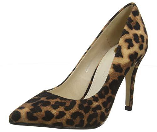 Buffalo Damen FERELLE Pumps, Mehrfarbig (Leopard 001), 38 EU