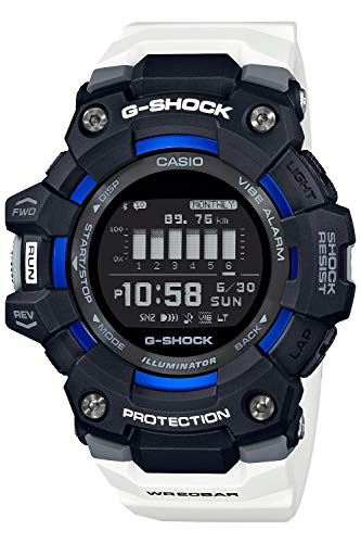 [カシオ] 腕時計 ジーショック G-SQUAD GBD-100-1A7JF メンズ ホワイト