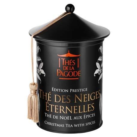 Ewige Schneetees von Pagodentees | Prestige Ausgabe - Box mit 100 Gramm | Belebender, würziger Tee