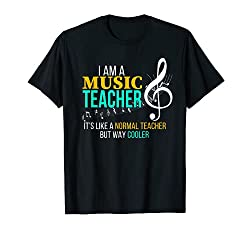 Funny Music Teacher Shirt - Best Gifts for Music Teachers