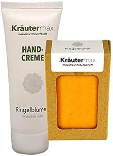 Calendula Set mit Ringelblumen Hand-Creme 1 x 70 ml und Seife 1 x 100 g