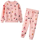 JinBei Conjuntos Deportivos para Niña Chándales Conjunto Sudaderas Sweater Pantalones...