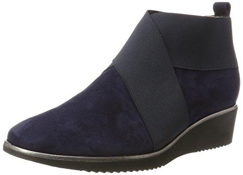 Hassia Damen Genua, Weite K Stiefel, Blau (Blue), 39 EU