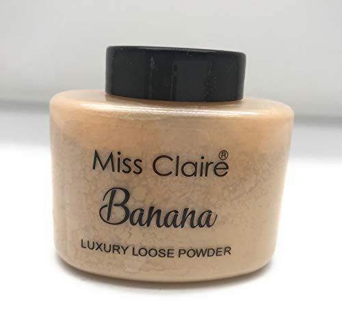 Miss Claire Luxury Loose Powder Banana, Beige, 38 Grams, Beige, 38 g