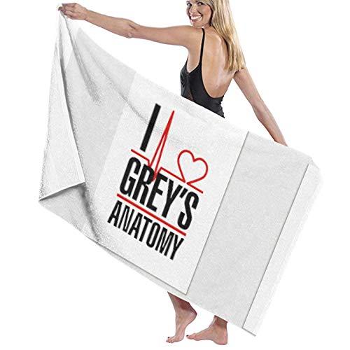Gr-ey'S Ana-tomy - Toallas de baño (absorbentes, suaves y absorbentes)