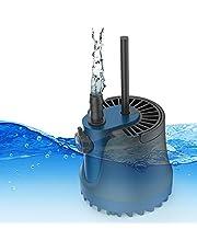 水中ポンプ Aonbys 給水・排水ポンプ本体 底部入水式 循環ポンプ 水陸両用 ミニポンプ 吐出量1800L/H 最大揚程2M 水耕栽培ウォーターポンプ 水族館給水・排水ポンプ 静音設計