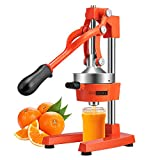 VIVOHOME Heavy Duty Commercial Manual Hand Press Citrus Orange Lemon Juicer Squeezer Machine