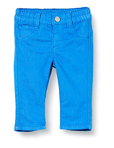 United Colors of Benetton Baby-Jungen Jeans Hose, Blau (Palace Blue 08a), 68