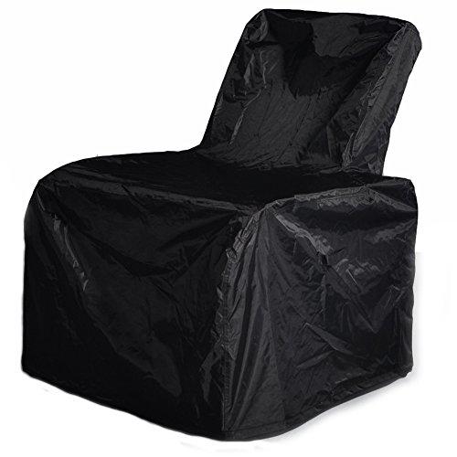 ATR Patio Fauteuil en rotin synthétique pour toutes saisons – Réglable, inclinable (canapé) avec coussin – Résistant aux UV/à la décoloration/à l'eau/à la transpiration/à la rouille – Facile à monter Brown Wicker + Khaki Cushion