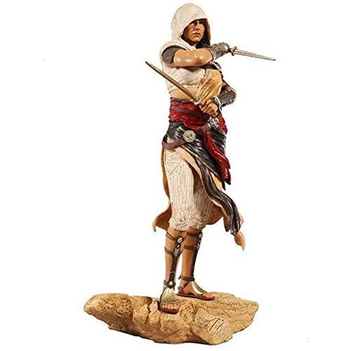 LUALU Arts-Assassins Creed Origins Aya The Phoenix Hands-On PVC Modelo MuñEca Adornos Segundo Elemento Juguetes Regalo EdicióN EstáNdar 27 Cm