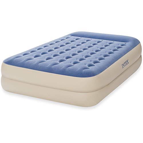"Intex 64719WL Queen 18"" Dura-Beam Standard Raised Pillow Rest Airbed Mattress"