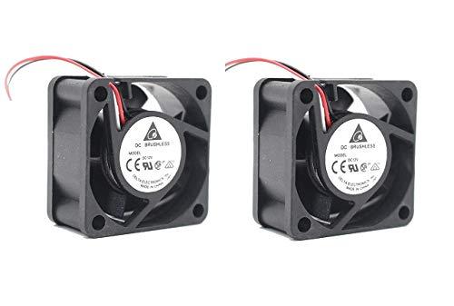 MikroTik CCR1016 y CCR1036 routers (2X) Ventiladores de repuesto de versión silenciosa