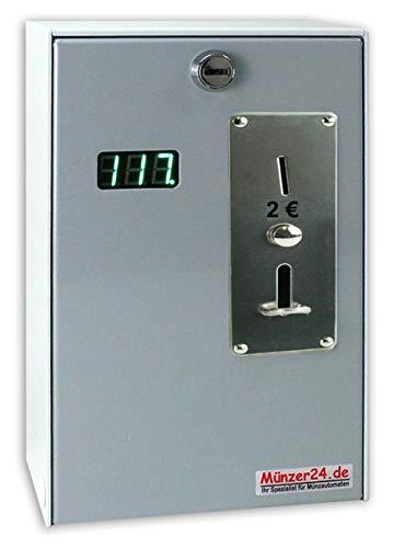 Münzautomat Beckmann EMS 57 - Münzgerät mit Zeitanzeige (Münzprüfer für 2 Euro)