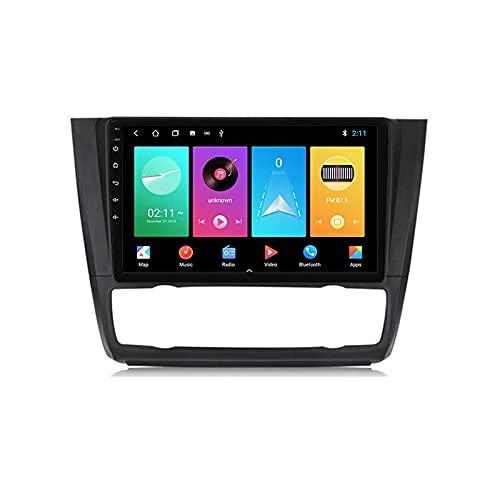 Android 10.0 Car Stereo Double DIN Radio para 1 Serie E88 E82 2006-2012 Navegación GPS Reproductor Multimedia de 9 '' Receptor de Video Bluetooth con 4G WiFi SWC DSP USB Carplay