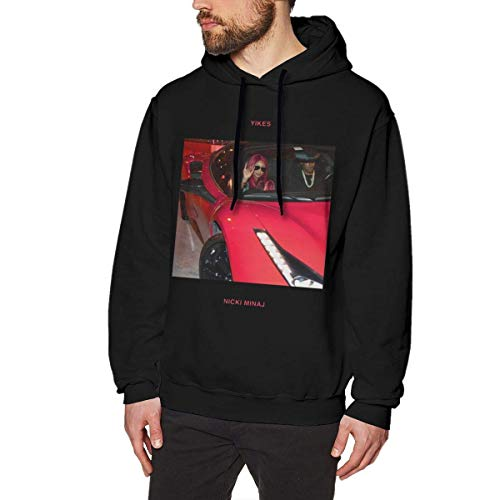 XCNGG Nicki Minaj Herren Long Sleev Sweatshirt Soft Outdoor 3D No Pocket Hoodies Kapuzenpullover