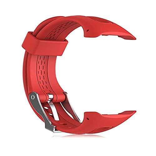 NEWMAN771Her Correa Ajustable de Silicona Suave Reemplazo para Reloj de Pulsera con Herramientas/Bolígrafo Compatible con Garmin Forerunner 10 / Forerunner 15 GPS