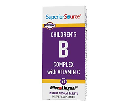 Superior Source Child B-Complex Vitamins (60 Tablets)