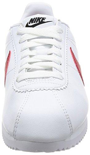 Nike Classic Cortez, Zapatillas Mujer, Blanco (White/Varsity Red-Varsity Royal 103), 38 EU
