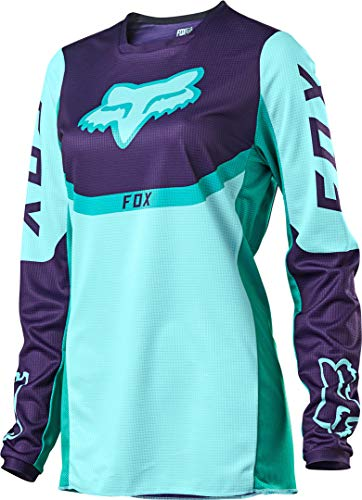 FOX 180 Voke Mädchen Motocross Jersey Blau/Lila M