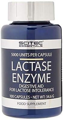 Scitec Nutrition Lactase Enzyme Capsules, 100-Count