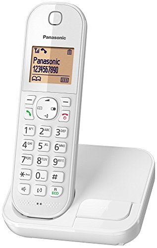 Panasonic KX-TGC410 Téléphone sans Fil Dect Blanc [Version Française]