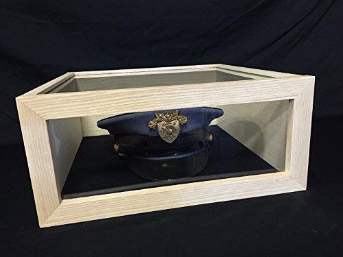DomEx Hardwoods USCG Hat Cover Box KIT Military Wood Coast Guard Chief