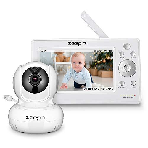 Monitor para bebé con cámara Monitor inalámbrico para bebé Zeepin