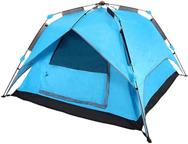 Dylisy Das automatische Spin-Type-Zelt muss Nicht mit Einem schnell zu öffnenden Doppelzelt mit Einem Schlafzimmer und Einem tragbaren 210X210X135Cm-Gerät aufgebaut Werden B07QMCXQSM  Ausreichende Versorgung