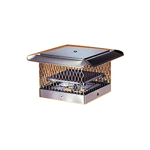 "Best Price Chim care chimney caps Fireplace Damper/Cap Combo  - 18"" x 18"""