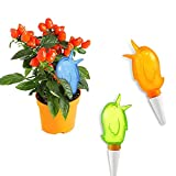 Mauofy 3Pcs Plant Self Watering Spike Devices, Automatic Plant Waterer Device Planter Drip Irrigation Watering Spikes Moist Roots for Outdoor Indoor Flower Vegetables Hanging Pots
