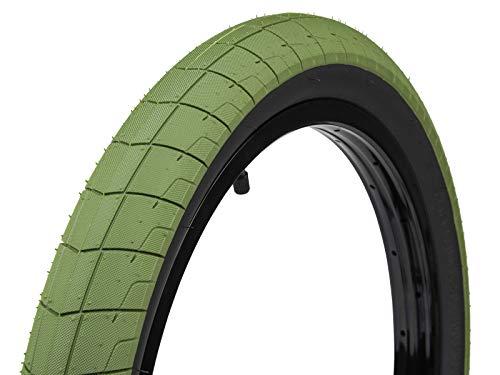 Eclat Fireball - Llanta (20 x 2,30 mm, 100 psi), color verde