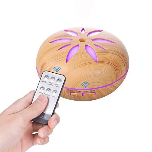 Diffusore di oli essenziali/umidificatori, Bluetooth, diffusore di aromaterapia, con telecomando, per SPA/Yoga/Ufficio ecc.