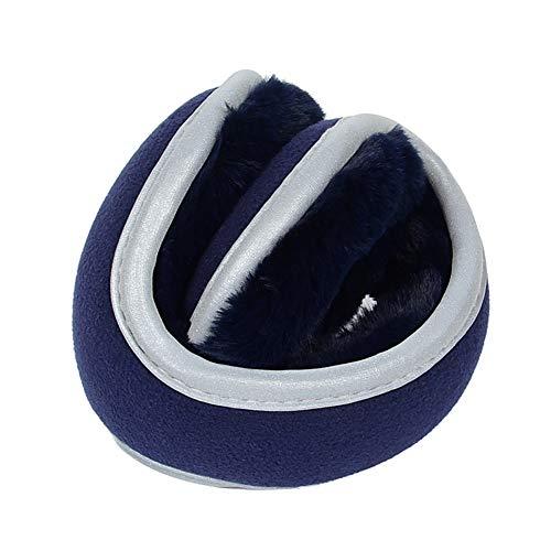 Qlans Herren Ohrenschützer Winter Warm Faltbare Ohrenschützer Anti-Kalt Gehörschutz
