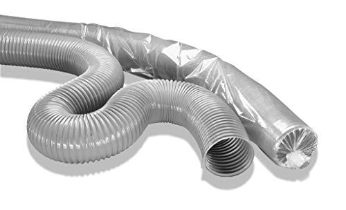 L:5m Saugschlauch aus verzinktem Stahl,sehr gut hitzebest/ändig bis 400 Grad /Ø 200mm Norres Metallschlauch