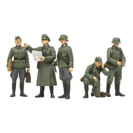 タミヤ 1/35 ミリタリーミニチュアシリーズ No.298 ドイツ陸軍 野戦指揮官セット プラモデル 35298