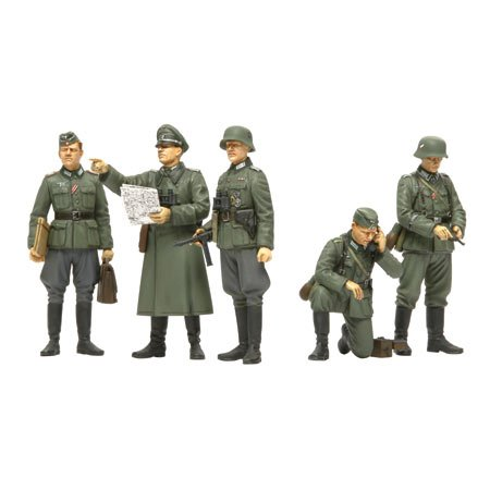 Tamiya 35298 German Field Commander Set 1:35