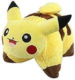 Soft Pikachu Pillow, Collapsible Cartoon Pillow, Very Soft Plush Pikachu Pillow Cute Yellow Pillow Cartoon Pillow Pet Pillow-Soft Pillow