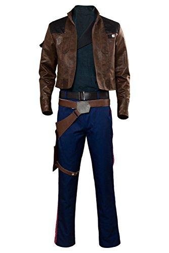 Karnestore Kostor Solo: A Story Han Solo Outfit Cosplay Kostüm Herren M