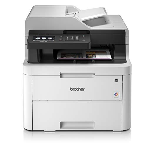 Brother MFC-L3710CW Imprimante Multifonction 4 en 1 Laser | Couleur - Silencieuse 45db | Mémoire 512Mo | Airprint | WiFi