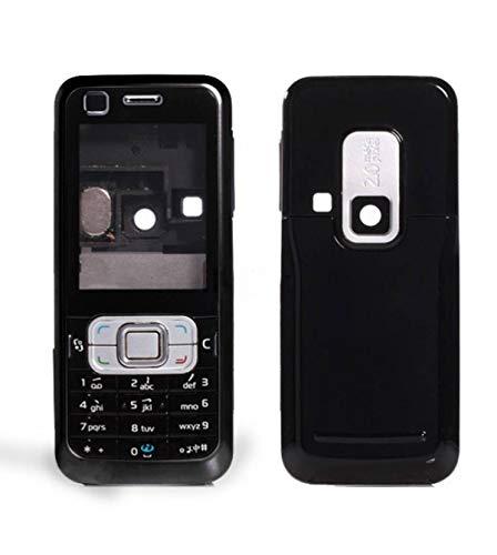 Huckster Full Body Panel for Nokia-6120 -(Black)