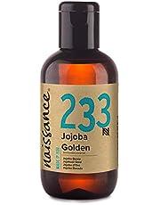 Naissance olio di Jojoba d'Oro 100ml - puro al 100%, Pressato a Freddo, Vegan, Cruelty Free, senza OGM, per l'idratazione della pelle e dei capelli