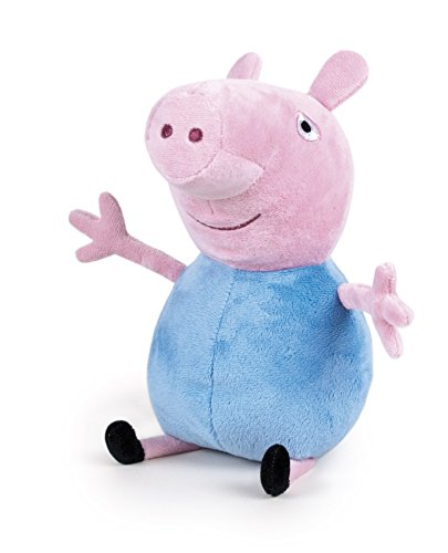 Peluche Peppa Pig - Modelo George - 27 cm
