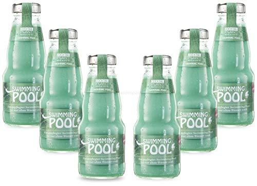 Cocktail Plant Swimming Pool (10,1{d2839d7681afa4506bafcb1eec688260355291d2328f37e611af8447de69bd12} Vol) 6x 0,2l = 1,2l - inkl. Pfand MEHRWEG - [Enthält Sulfite]