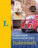 Langenscheidt Sprachkalender Italienisch - Kalender 2020 - Tagesabreißkalender mit 5-10 Minuten Lernspaß täglich - 12,5 cm x 15,9 cm