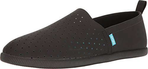 Native Shoes , Baskets Mode pour Femme Rose Rose - Noir - Jiffy Black Solid,