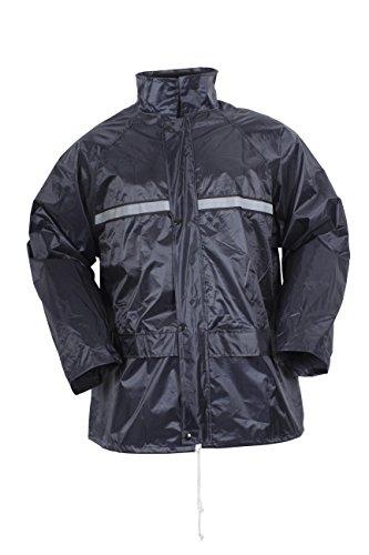 Ensemble veste et pantalon imperméable et respirant bleu marine noir taille S à 3XL Blackrock, L, bleu marine, 20