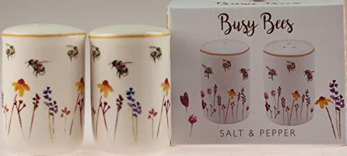 Jennifer Rose Salz- und Pfefferstreuer-Set, Busy Bees
