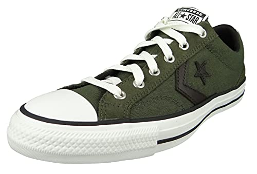 Converse Star Player 172407C - Sneaker da uomo, colore: Verde, Cargo cachi vintage bianco, 42 EU