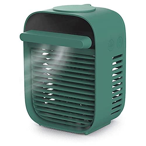 HUIXINLIANG Acondicionador de Aire portátil, Ventilador de refrigerador de Aire Personal Recargable USB con 3 velocidades, para hogar, Oficina y habitación